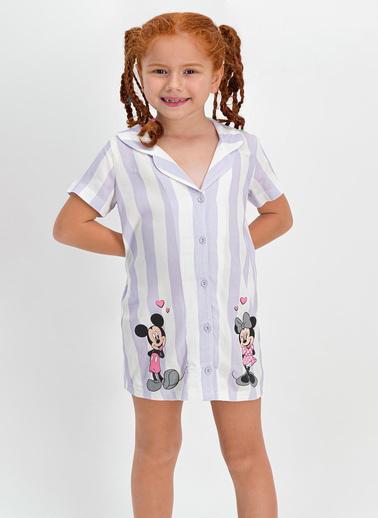 Mickey Mouse Ev Elbisesi Beyaz